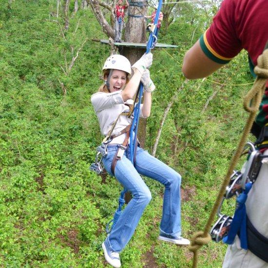 Canopy Adventure Cafe Las Flores Tours Nicaragua Vianica Com
