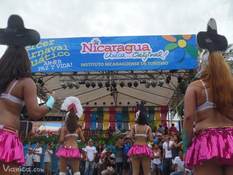 San Carlos Rio San Juan Nicaragua Water Carnival Rio San Juan
