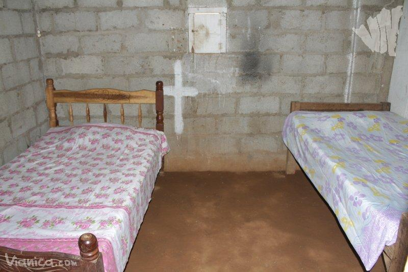 Habitaci n doble albergue rural los norte os nicaragua for Cama unipersonal