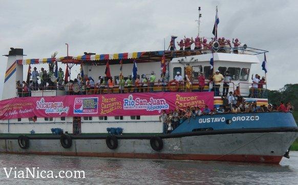 San Carlos Rio San Juan Nicaragua Carnival in Rio San Juan