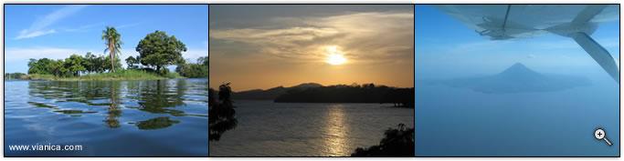 Lake Nicaragua Nicaragua Vianica Com